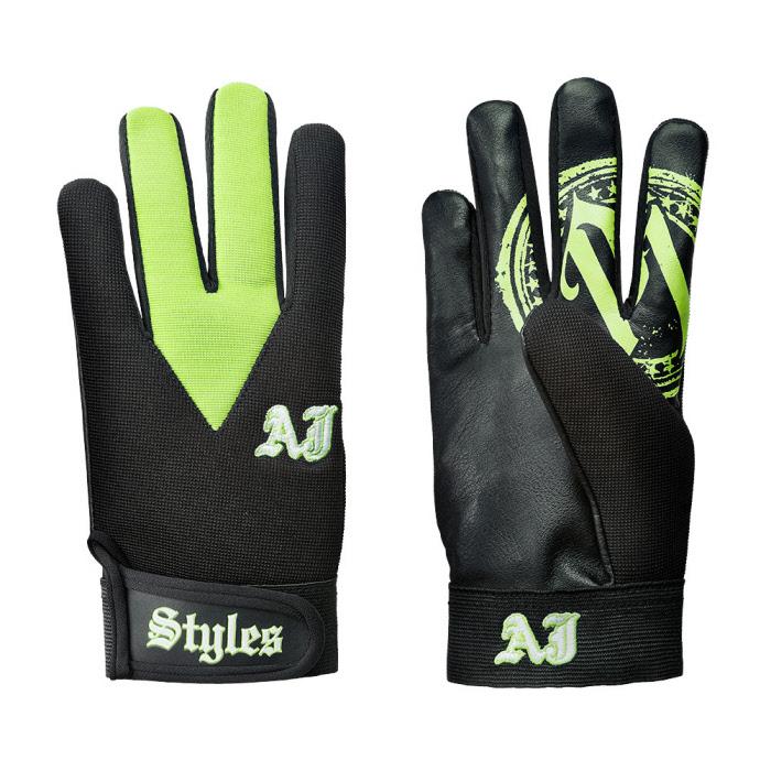 design di qualità aliexpress più popolare Set di 2 guanti di AJ Styles - Verde (Taglia unica)