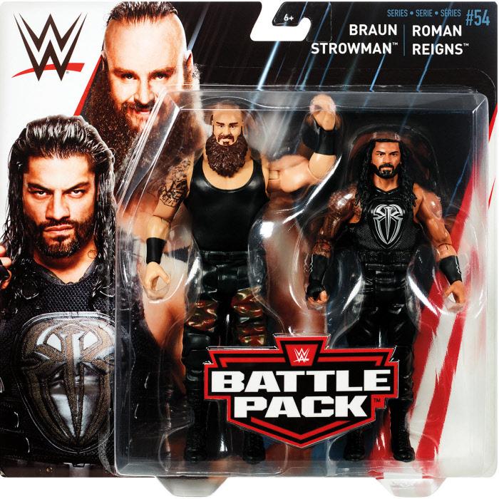 massimo stile vendita online lucentezza adorabile WWE Battle Pack #54 - Roman Reigns & Strowman