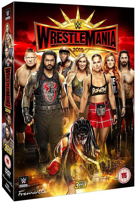 DVD - WrestleMania 35 (3 Dischi)